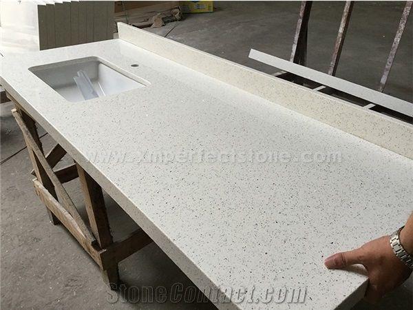 White Quartz Stone Countertop White Quartz Kitchen Counter Top Quartz Countertop From China Stonecontact Com