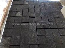 Zhangpu Black Basalt Paver Tile/Chinese Black Cube Stone/Black Driveway Paving Stone