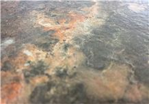 Bk Devil Brushed Limestone Tiles & Slabs, Cepillado, Brosse Spain