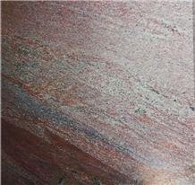 Red Jacaranda Granite Slabs & Tiles