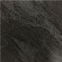 Verde Candeias Black Granite Slabs, Brazil Green Granite