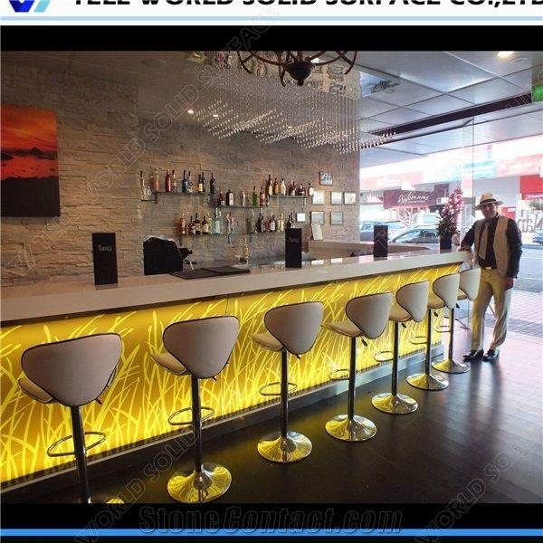 Modern Bar Counter Restaurant Juice Bar Counter Designs