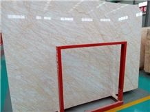 China Stone Manufacturer Polished Butterfly Golden Natural Marble Slab