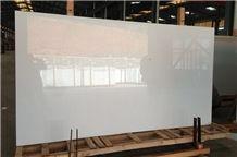 280x150 Pure White Nano Stone Big Slab Nano Crystallized Stone Slabs & Cut to Size Nano Crystallized Stone