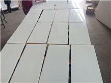 Factory Direct Sell Nano Stone Pure White Nano 3 Artificial Stone Nano Crystallized Stone Tile 30x30 30x60