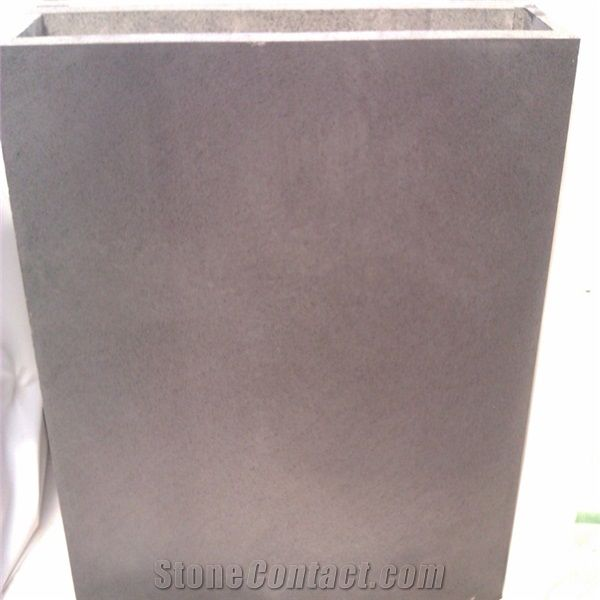 Honed Cheap Grey Basalt Stone Floor Tile For Sale From China