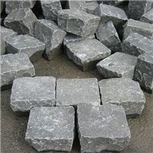 Honed Grey Basalt Paver Basalt Cobble Stone Paving Stone