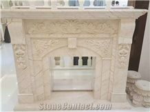 Hot Sale Heathe Decoration, Marble Fireplace, Fireplace Surround and Decoratiing.
