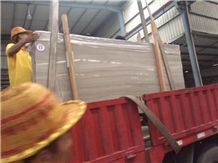 Premium High Quality Slabs White Wood Marble ,Athens White Marble ,Wooden White Marble ,Silver Wood Marble Polished