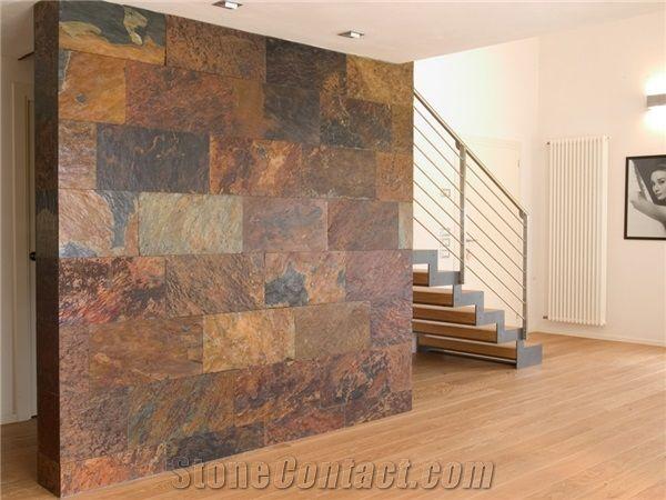 Slate Tile Slate Wall And Flooring Tile Red Slate Black