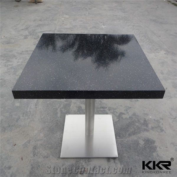 Durable High Quality Solid Surface Dining Tables Artificial Stone