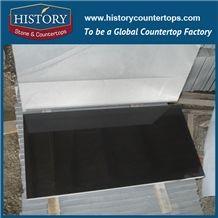 Flamed Mongolian Black from China / Absolute Black Granite Tile /Black Granite Kitchen Countertop/Granite Tile 24x24