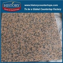 Hight Quality Best Price Cheap Granite Slabs China Tian Red Hot Selling Polished Surface Granite Commercial Bathroom Wall Covering and Flooring Tiles, for Kitchen Countertops and Vanuty Top