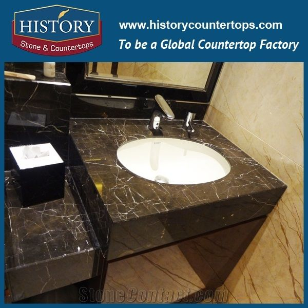 History Stone Hm067 China Marron Emperador Latest Marble Standard ...