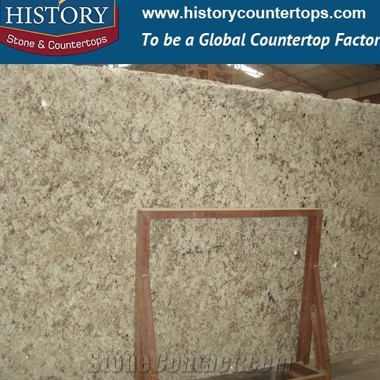 History Stone Natural Granite Mirror Slim Slabs and Tiles for