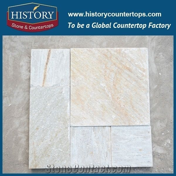 History Stone Natural Split Rectangle And Square Adhesive Slate