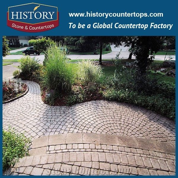 History Stones Chinese Highest Quality Popular Rough Natural Yellow G682  Outdoor Decoration Cheap Price with Production Line for Sale Driveway, ... - History Stones Chinese Highest Quality Popular Rough Natural Yellow