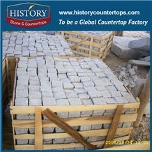History Stones Different Size G603 Light Grey Granite Tiles Named Outside Natural Stones Size 10*10*5 Split Garden Wall Landscape Paving Building Material, Walkway, Landscaping Stones Curbstone & Cube