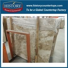 Historystone Imported Cappuccino in Turkey Non Slip Polished Marble Wall and Floor Tiles & Slabs for Interlocking Outdoor or Indoor,High Quality Best Cheap Price Hot Sales Natural Stone Slabs Polished
