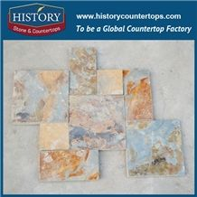 Honed Rusty Slate Stone for Wall Covering Tile 30x60, Floor Paving and Swimming Pool Cladding