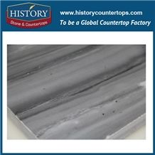 Hot Sale Hilton Gray Natural Polished Marble Tiles & Slabs for Wall Floor Design with Good Price Flooring Border Designs