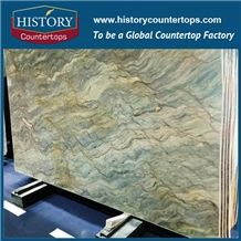 Hustory Imported Brazil Silk Road /Fusion Cut to Size Construction & Building Material in Exterior - Interior Wall and Floor Applications/ Pool/For Countertops/Wall Covering,Best Price