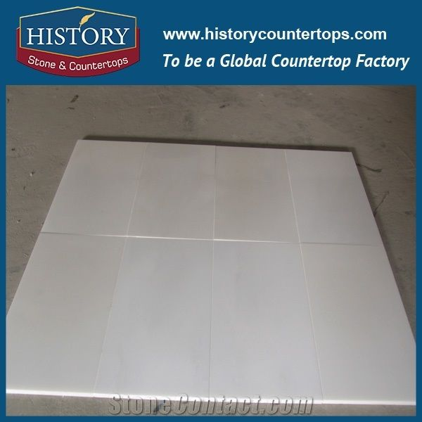 Polishing Pure White Marble Chinese Per Square Meter Price Of Stone Tiles Slabs For Flooring Floor And WallElegant Color Texture Clear Beautiful