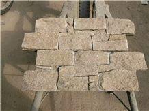 China Yellow Quartzite Ledge Stone,Culture Stone
