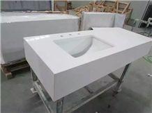 Quartz Stone Bathroom Tops