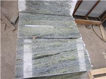 Emerald Green Granite Polished Tiles for Floor