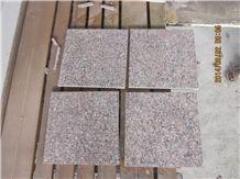 G562 Maple Red Granite Flamed Tiles for Floor