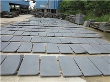 Grey Lavastone/Gray Andesite/Hainan Grey Basalt Honed Tiles for Floor