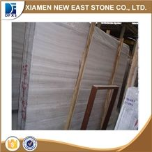 Natural Polished White Wood Marble Slabs & Tiles, White Wood Grain Marble / China Serpeggiante White Marble Slabs & Tiles with Wood Vein