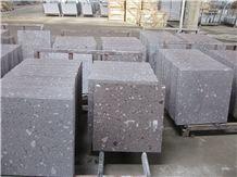 Purple Shell/Violet Ocean Blue Granite Polished Tiles for Floor