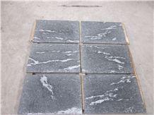 Via Lactea/Snow Grey/Mist Black/Jet Mist Granite Flamed Tiles for Floor