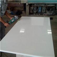 Nano Crystallized Glass Stone Tiles for Interior Decoration/Nano Glass White&Beige Panel Crystallized Glass Stone Tiles for Wall and Counter Top