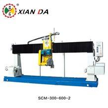 Scm-300/600 Automatic Computerized Special Shape Linear Railing Column Solid Pillar Balustrade Banister Vase Cnc Stone Cutting Profiling Lathe Machine