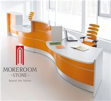 Acrylic Commercial Countertop/Acrylic Solid Surface Table / Office Furniture Designs