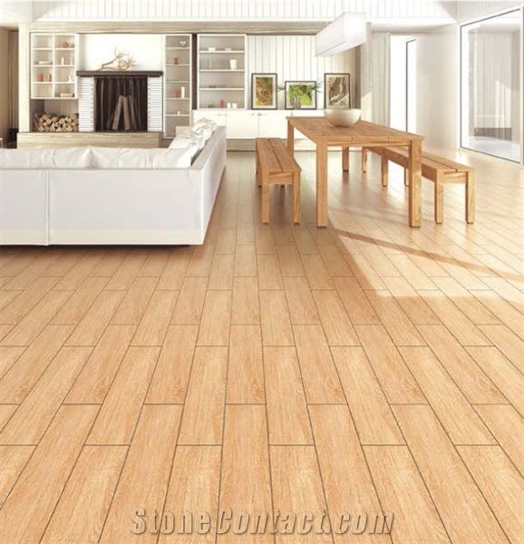 Wood Grain Brick, Porcelain Wood Grain Tile, Wooden Tiles Flooring Designs - Foshan Mono Building Material Co.,Ltd.( Moreroom Stone )