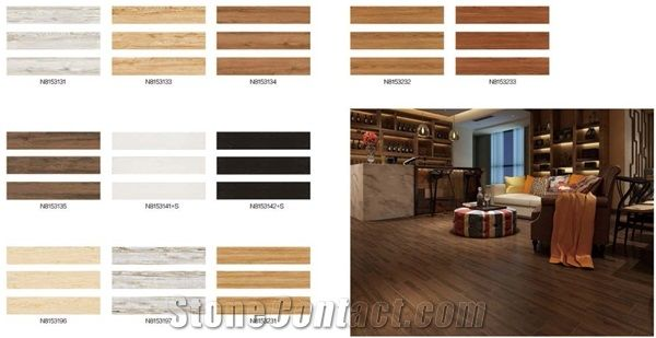 Wooden Tiles Flooring Designs