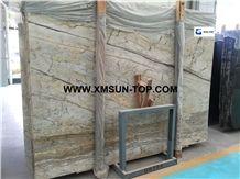 Jazz Gold Granite Slabs/ Multicolor Granite Slab& Tiles/Yellow Gold Granite Covering Panel/Mixed Color Granite for Tv Backdrop/Good Book-Match Effect