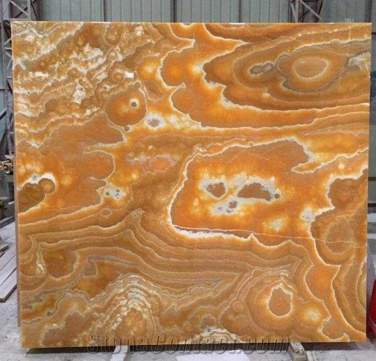 Iran Yellow Onyx Red Onyx Gold Book Matching Tiles Slabs Floor