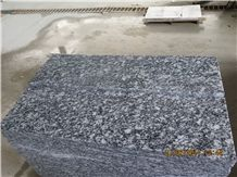 China Cheap Granite White Oyster White Wave Oyster Pearl Granite Spray White Sea Wave G423 Granite Polished Flamed Tile Slab