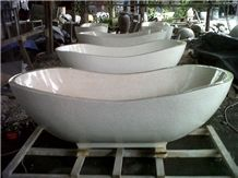 Resin Stone Hotel Bathtub - Terrazzo Resin Bathtub
