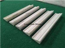 Eastern White Marble Chair Rail