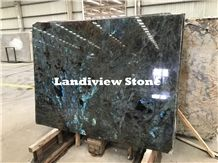 Lemurian Blue Granite, Labradorite Blue Granite Slabs