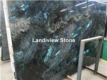 Lemurian Blue Granite Slabs