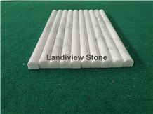 Oriental White Marble Pencil Rail