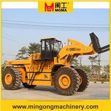 40 Tons Stone Block Handler Forklift Wheel Loader Capacity 40 Tons 45 Tons 52 Tons