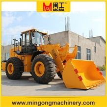 5t 3cm3 Capacity Wheel Loader, Earthmoving Machine Mgm951